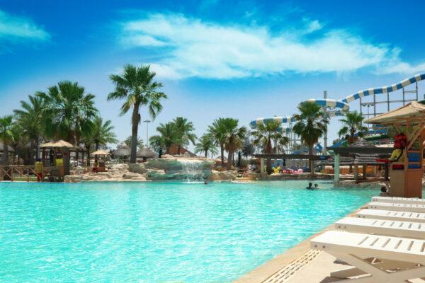 Best Qatar Tourist Places - Aqua Park is A Qatar Water Park Located in Abū Nakẖlah Area