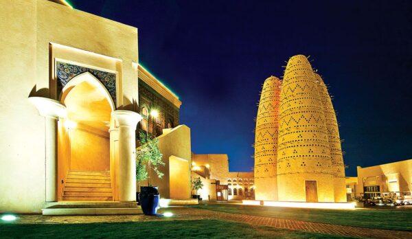Best Qatar Tourist Places - Katara Cultural Village is Very Near to Katar Beach