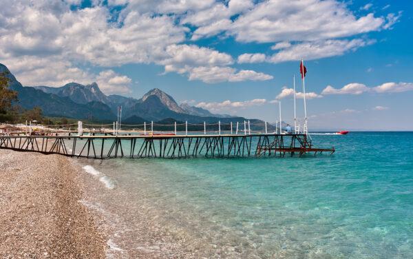 Antalya Beach Guide For Tourists - Kemer Beach is 40 km Away From Antalya