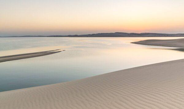 Qatar Tourist Attractions - Khor Al Udeid is Located 80 km Southwest of Doha