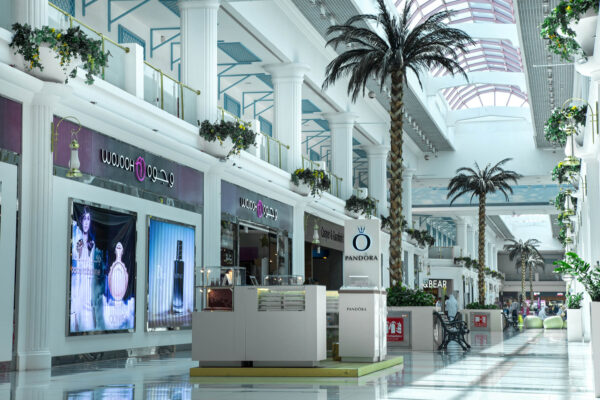Shopping in Middle East - Landmark Mall Has A Traditional Design Like Qatari Castles