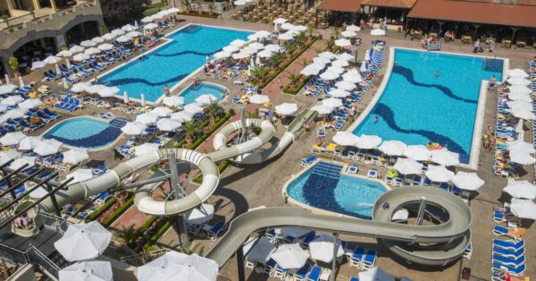 Sunny Beach Hotels - Melia Sunny Beach Has Two Buildings Which They Mirror Each Other