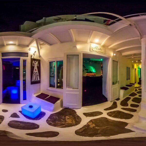 Nightlife in Greece - Porta Bar is A Gay Friendly Bar Near Church of Panagia Paraportiani