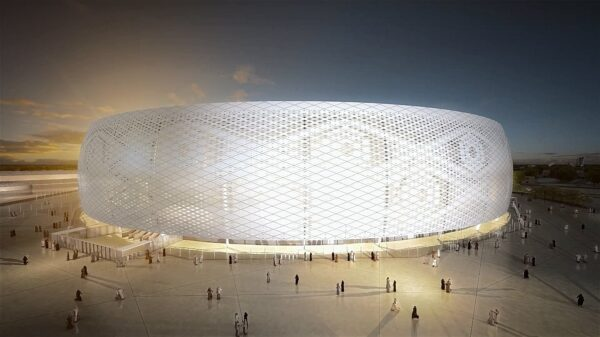 Football Arena - Al Thumama Stadium Has A Spherical design And Very Unique in The World