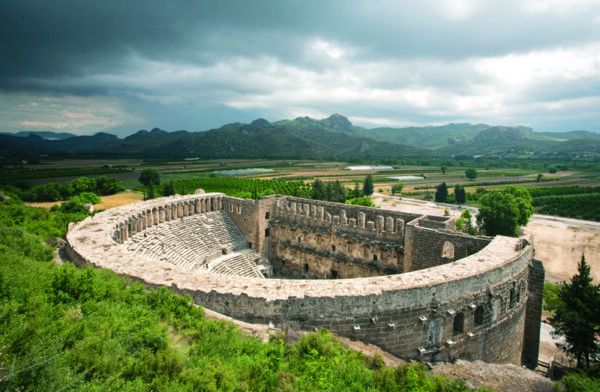 Best Antalya Attractions For Tourists - Aspendos is A Roman Theater Since Third Centuries AD