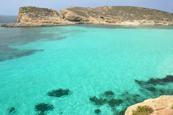 Travel Guide Europe - Blue Lagoon Has Clear Turquoise Waters And White Sands