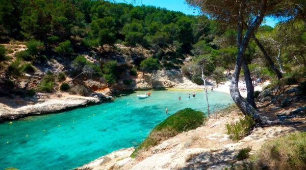 Europe Travel Tips - Cala Cap Falcó is Located South of The Holiday Resorts of Magaluf