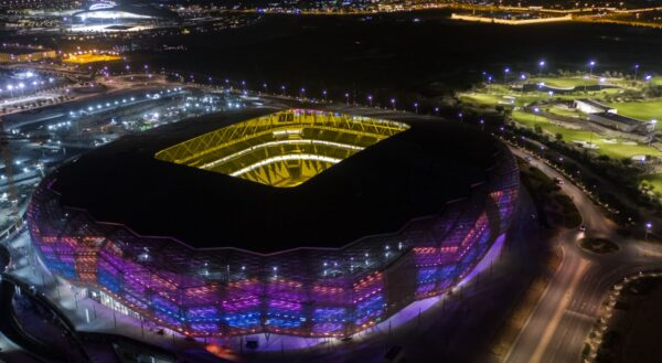 Football Arena - Education City Stadium Has A Temperature Control System