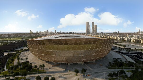 Qatar World Cup Stadiums - Lusail Stadium is in The Eastern Part of The City
