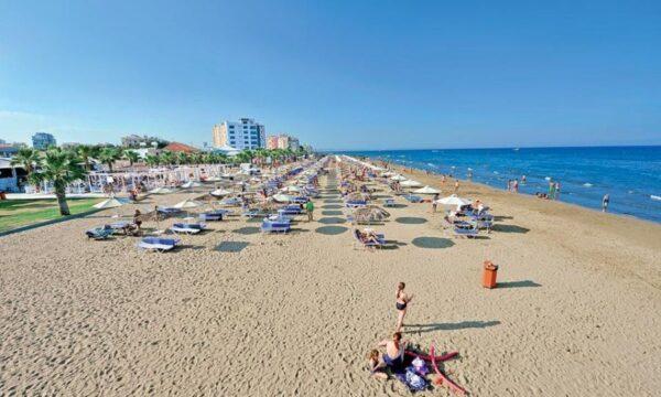 Larnaca Beaches Guide For Tourists - Mackenzie Beach is Located 5 km From Larnaca Airport