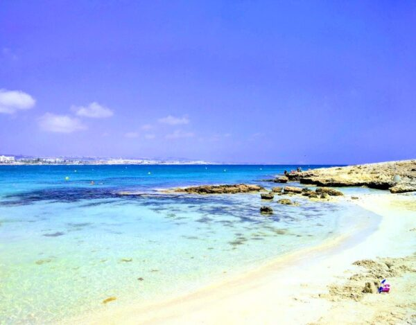 Beaches in Ayia Napa to Visit in Summer - Makronissos Beach Consists of Three Small Bays