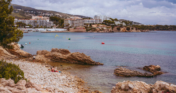 Palma Beaches - Punta des Carregador is Also Famous as Playa es Carregador