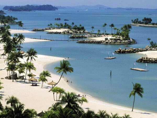 Asia Travel Tips - Sentosa Island And Sentosa Beach Are Good For Boating And Skimboarding