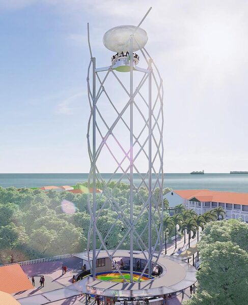 Asia Travel Tips - SkyHelix Sentosa Has A 360-Degree Ride Inside If You Are Not Afraid of Heights
