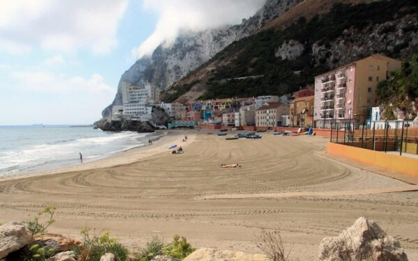 Best Beaches in Gibraltar - Catalan Bay Gibraltar Has Apartments And Houses