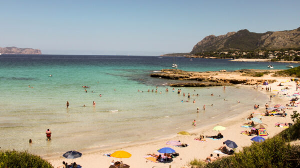 Europe Travel Tips - Playa el Mal Pas Has Perfectly Clear Water and Soft Sands