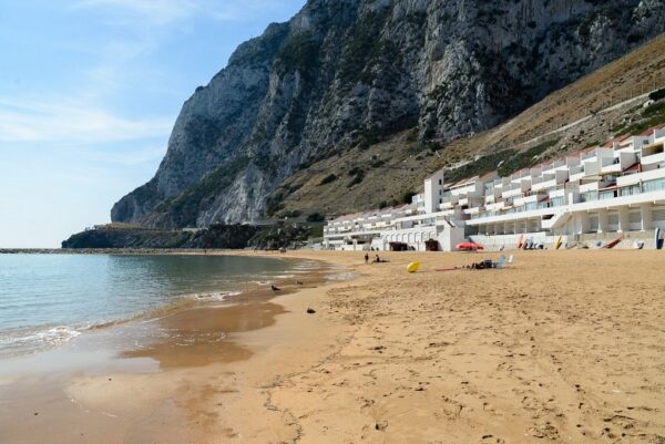 Gibraltar Beach Guide - Sandy Bay Gibraltar Restored to its Former Glory in 2014