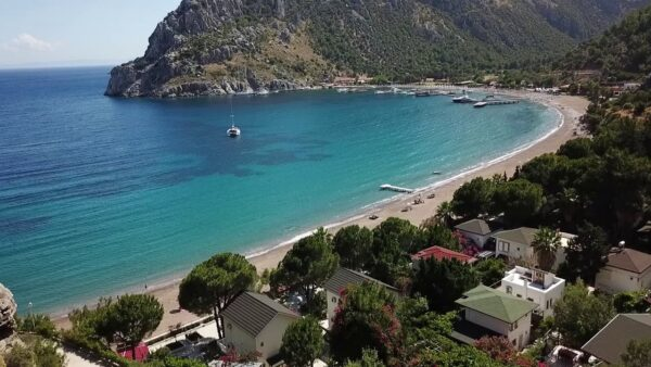 Turkey Travel Tips - Çiftlik Koyu is Where You Can Rent A Boat And Go For Sea Cruising