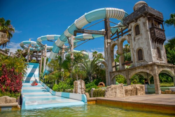 Tenerife Tourist Attractions Guide - Aqualand Costa Adeje is Located on The Costa Adeje
