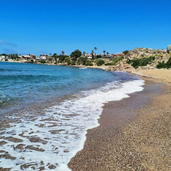 Kusadasi Beaches Guide For Tourists - Diamond Beach is Located Opposite Side of Nazilli Sitesi And Aydin Tur