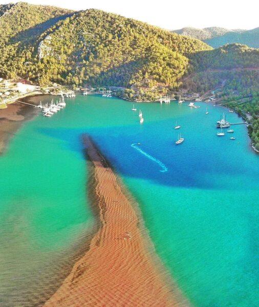 Turkey Travel Tips - Girl Sand Beach (Kız Kumu Plajı) is in The Small Village of Orhaniye