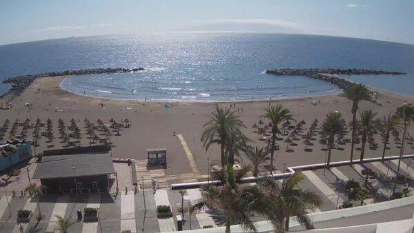 Best Beaches in Tenerife - Playa Americas Tenerife is A Black Volcanic Sand Beach