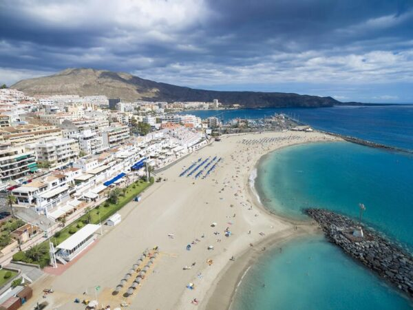 Best Beaches in Tenerife - Playa de Los Cristianos is Located in The South of The Island
