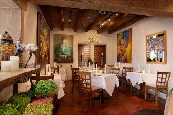 Santa Fe Restaurants Guide - Sazon Belongs to Chef Fernando Olea Famous For Their Mexican Mole