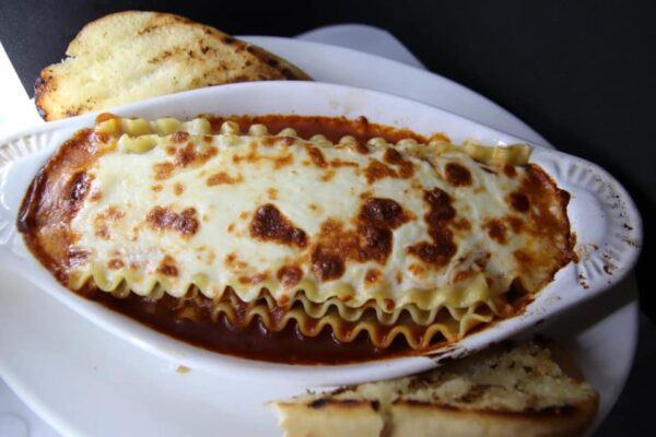 Ontario Food Guide - The Golden Valley Restaurant Provides Lasagna As Well As BBQ Ribs