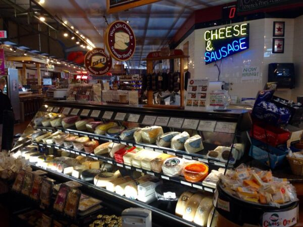 Top Cheese Shops in Wisconsin - West Allis Cheese & Sausage Shoppe is Found in West Allis