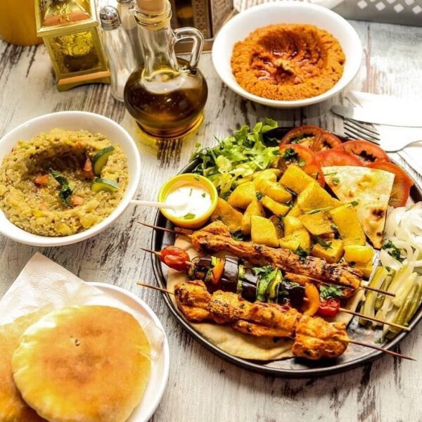 Travel Guide Morocco - Baba el Ghanouj Restaurant Specializes in Cooking Real Lebanese Food