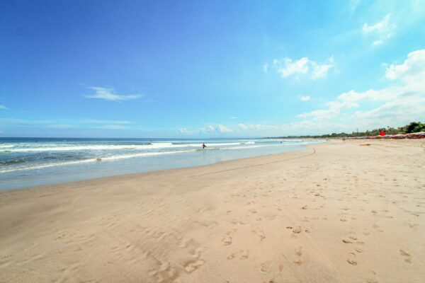 Experiencing Indonesian Bali Island As A Bali Tourist - Kuta Beach is in Kelurahan Village