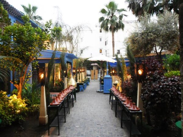 Top Restaurants in Casablanca - La Sqala Was Founded in 2002 And is Located in The Old Medina