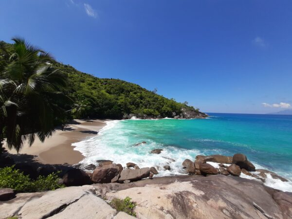Amazing Beaches in Seychelles - Anse Major is Accessible Through the Morne Seychellois National Park