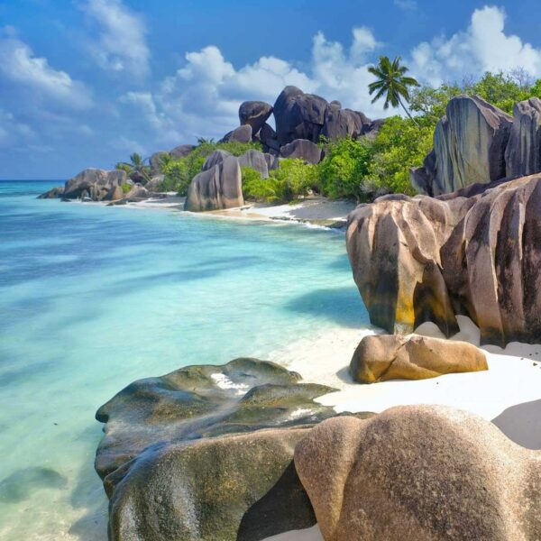 Amazing Beaches in Seychelles - Anse Source d'Argent is Located on The Grounds of L'Union Estate