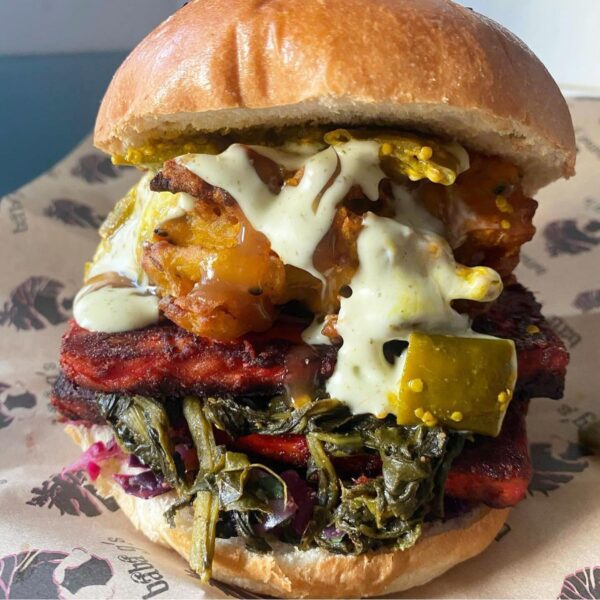 Top Burgers London Tourists Can Enjoy - BaBa G's is Located at Pop Brixton And West Yard in Stables Market