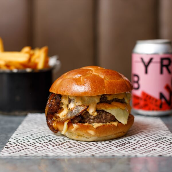 UK Travel Tips - Byron Has Amazingly Large Burgers Located in Soho And Mayfair Areas
