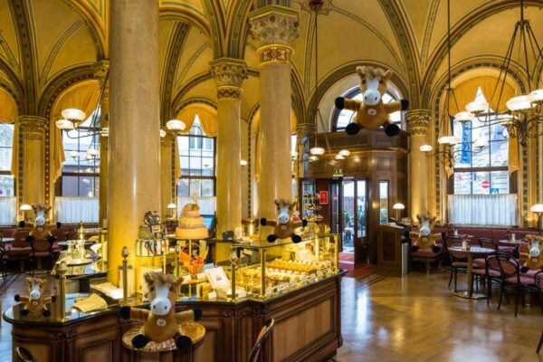 Café Central is Located in The City Center - Excellent Cafes in Vienna