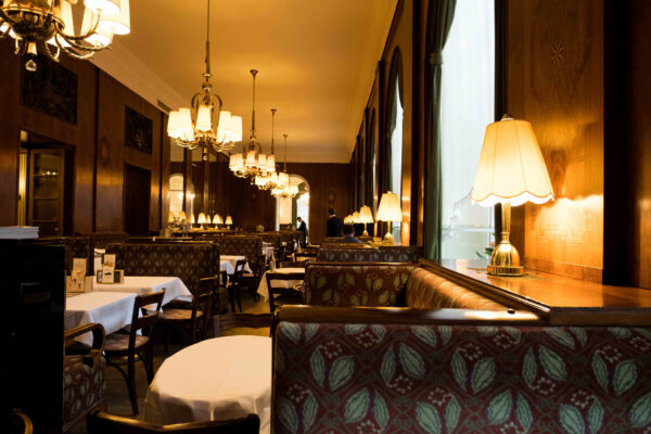 Excellent Cafes in Vienna - Café Landtmann is Located Right in Front of Rathauspark
