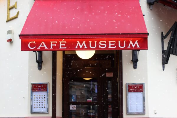 Travel Guide Austria - Café Museum is A Modern Work of Art Near Karlsplatz Subway Station
