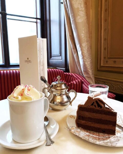 Demel is Famous For Their Chocolate Sweets - Top Vienna Coffee Houses