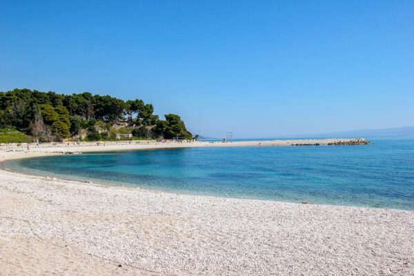 Firule Beach is About 250 Meters Long And Has Picigin Competition - What To Do in Croatia