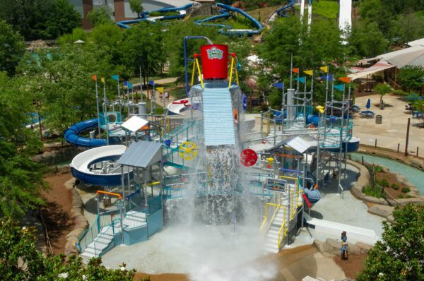 Enjoying Geyser Falls Water Theme Park Located in Choctaw County - What To Do in USA
