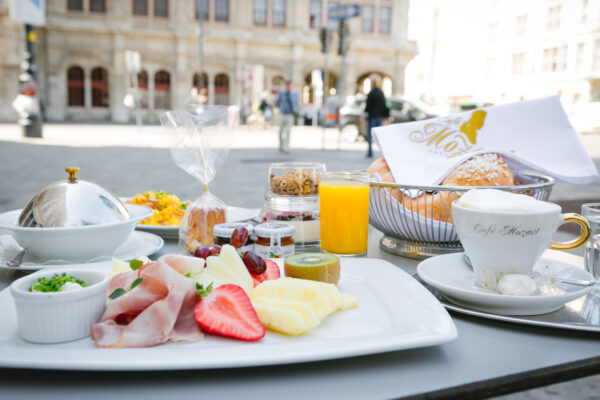 Mozart cafe Opened in 1794 With Classical Architectural - Excellent Cafes in Vienna