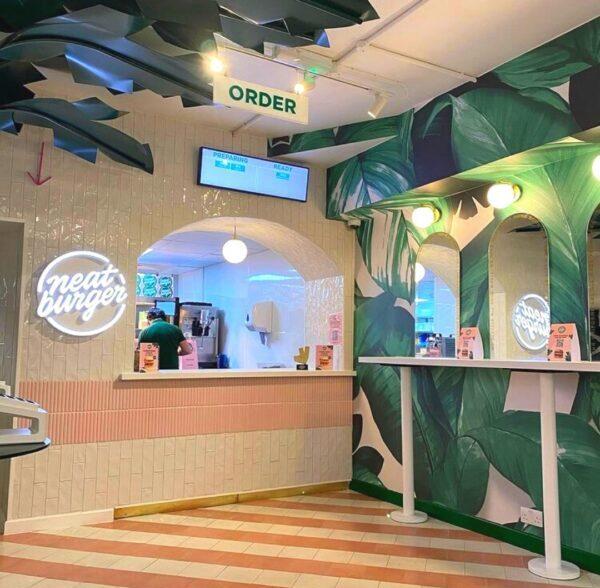 Best London Burger Shops - Neat Burger Offers Nice Plant-Based Veggie Burgers