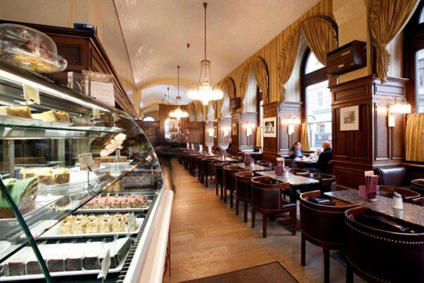 Top Vienna Coffee Houses - Café Schwarzenberg is Located at Ringstrasse Galleries near Schwarzenbergplatz