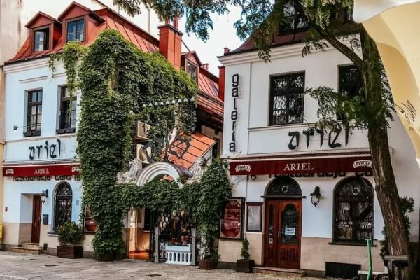 Ariel is Located Near The Remuh Synagogue - A Guide to Food in Krakow