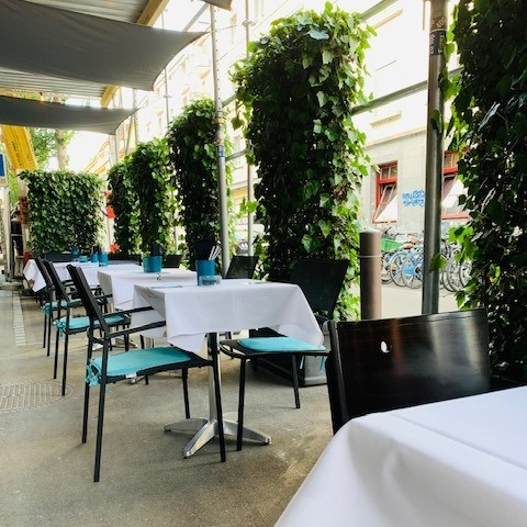 A Guide to Food in Zurich - Samses is Located in The Famous Langstrass Districte