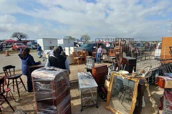 The Mission Market Open Air Market Has New And Antique - All About San Antonio Flea Markets