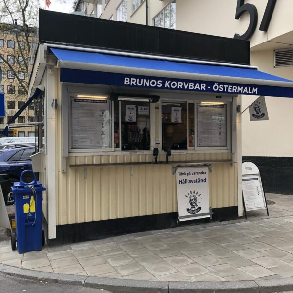 Hotdog Carts Like Hornstulls Korvkiosk and Östermalms Korvspecialist - Places to Get Lunch in Stockholm